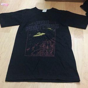 Foo Fighters UFO tour shirt